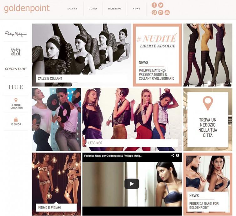 È on-line il nuovo sito internet goldenpoint