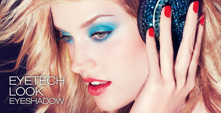 Sguardo luminoso con Eyetech Look Eyeshadow di Kiko