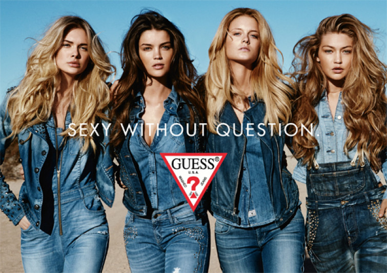 """Guess lancia lo stile """"Sexy without question"""""""