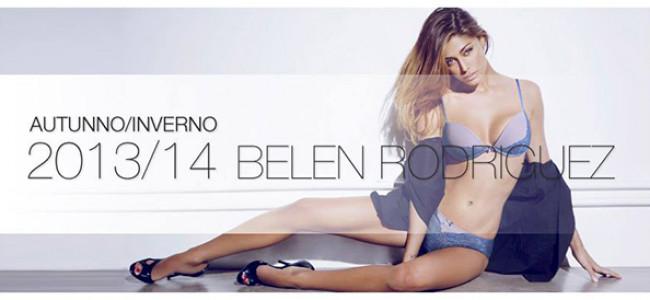 Belen Rodriguez per Jadea, collezione intimo autunno/inverno 2013-14