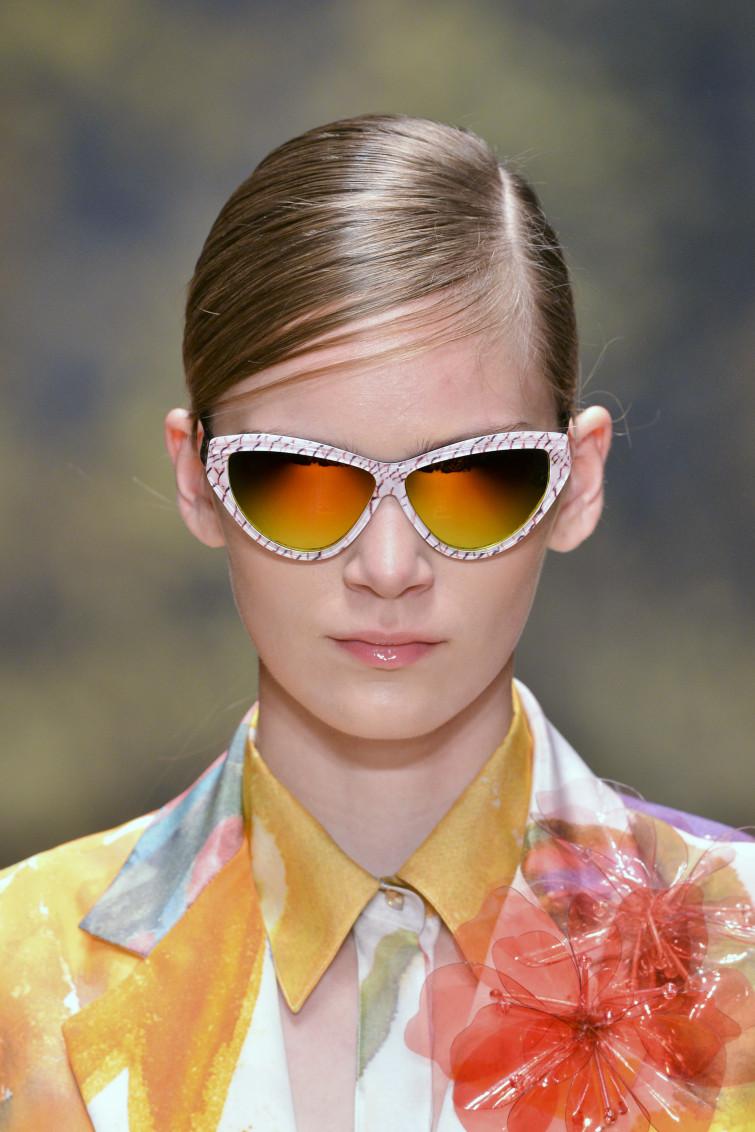 Laura Biagiotti eyewear a Parigi tra fashion e bio