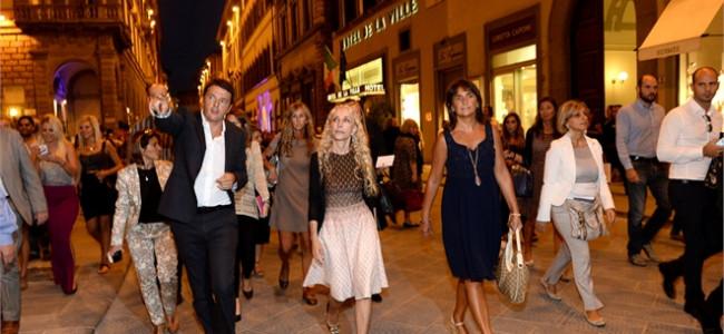 Vogue Fashion's Night Out 2013 di Firenze