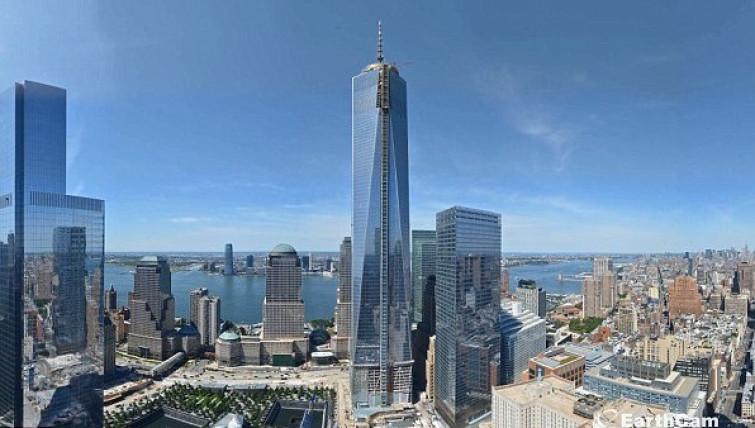 11 settembre 2013: EarthCam rilascia il time-lapse ufficiale del One World Trade Center (VIDEO)