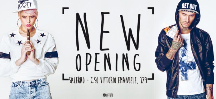 Alcott&Alcott Los Angeles inaugurano un nuovo concept store nel cuore di Salerno