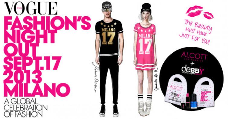 Alcott vi invita alla Vogue Fashion's Night Out di Milano