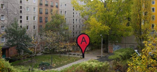 L'icona rossa di Google Maps compare fisicamente in svariate città [FOTO]