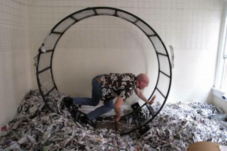 Vendesi ruota per criceti… Per esseri umani [FOTO]