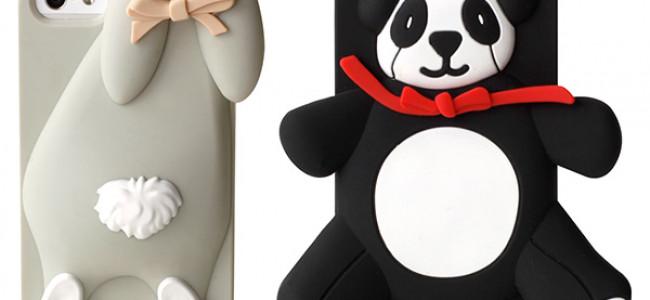 Moschino, in arrivo le nuove cover per iPhone: Violetta la Coniglietta e Agostino il Panda