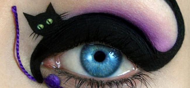 Make-up d'artista: opere d'arte straordinarie sulle palpebre [FOTO]