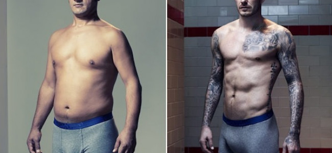 E se nelle campagne pubblicitarie di intimo maschile posasse un uomo qualunque?(FOTO)