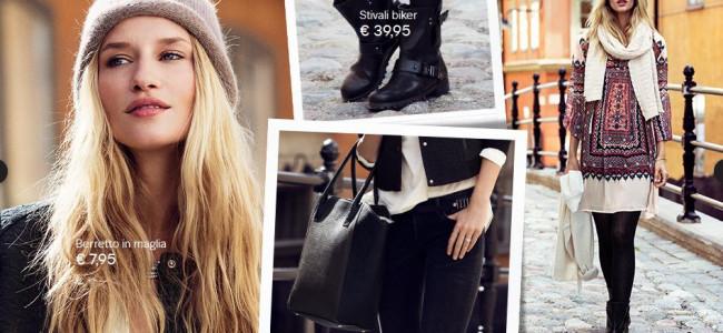 H&M: gli accessori per l'inverno