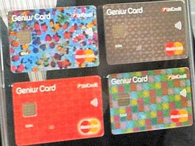Le carte di credito diventano fashion