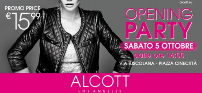 Via Tuscolana si colora di rosa con un fashion party unico, firmato Alcott Los Angeles