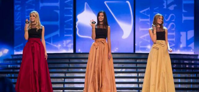 Daniela Del Cima e gli abiti delle Miss