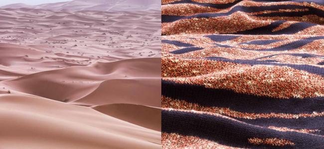La terra si fonde con la moda (FOTO)