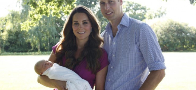 Kate e William cercano una tata per il piccolo George