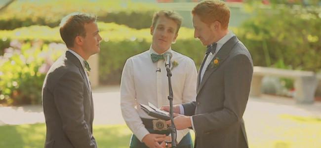 Il matrimonio gay più commovente di sempre! (VIDEO)