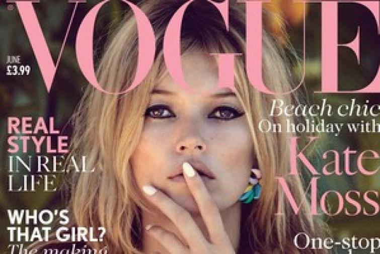 Kate Moss diventa fashion editor per Vogue