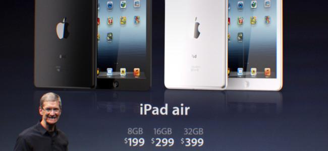 Presentati iPad Air e iPad Mini 2, i dettagli