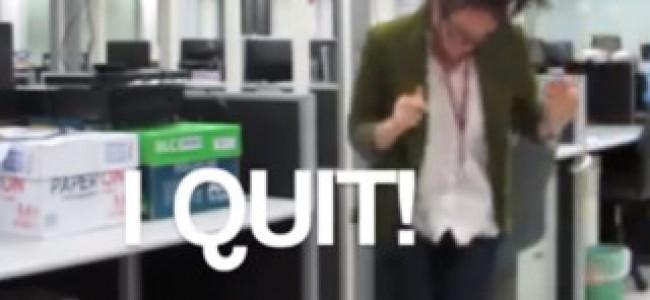 Come licenziarsi con stile! (VIDEO)