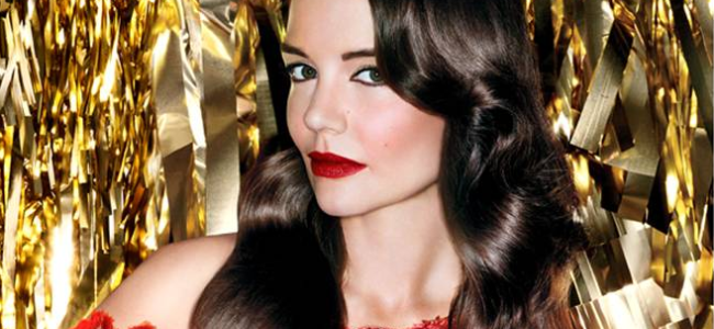 Katie Holmes posa per la nuova linea Bobbi Brown: Old Hollywood