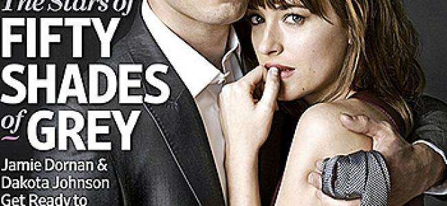 Christian Grey e Anastasia Steele: la prima copertina [FOTO]