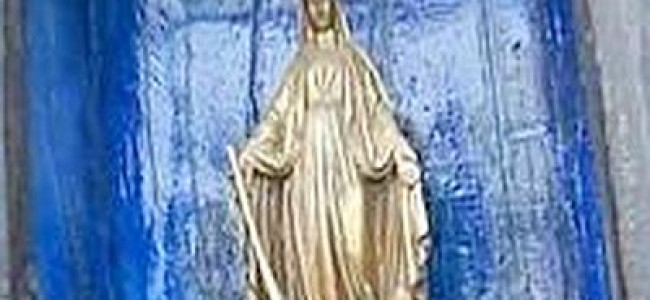 """La """"Madonna col fucile"""", polemica a Venezia per la protettrice dei cacciatori [FOTO e VIDEO]"""