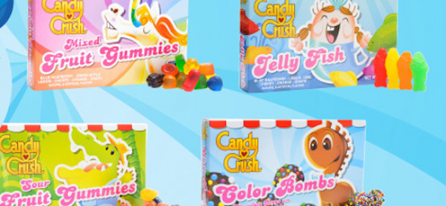 Candy Crush lancia le Candy Crush Candies, le caramelle ufficiali [FOTO]