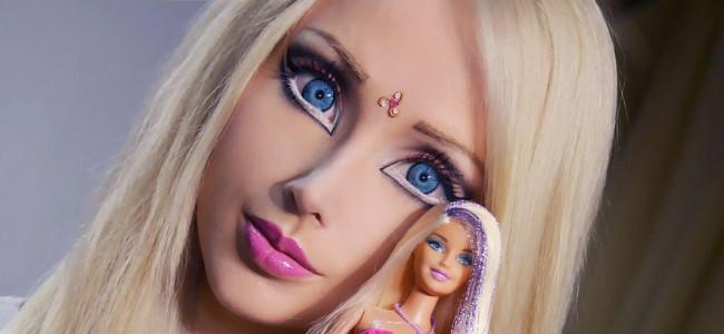Ecco Valeria Lukyanova, la Barbie vivente [FOTO]