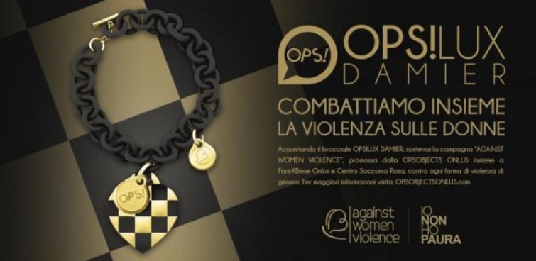 OPS!LUX DAMIER, il bracciale contro la violenza sulle donne