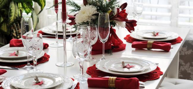 Regole di bon ton per pranzi e cenoni all'insegna del buon gusto