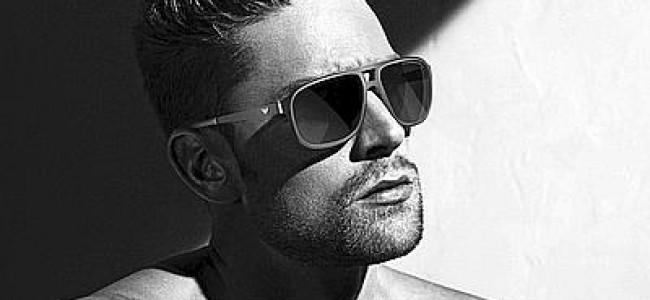 Il campione Luca Dotto testimonial per Emporio Armani