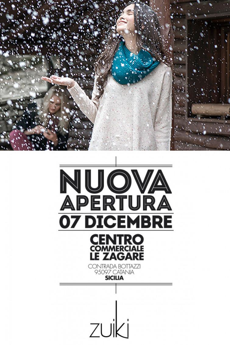 Nuovo store Zuiki a Catania