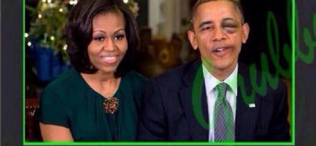 Obama fa lo splendido con Helle Thorning-Schmidt e Michelle si arrabbia (FOTO)