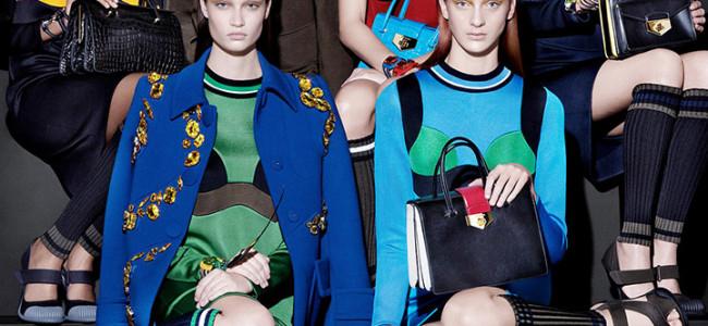 La nuova campagna per la primavera-estate 2014 di Prada