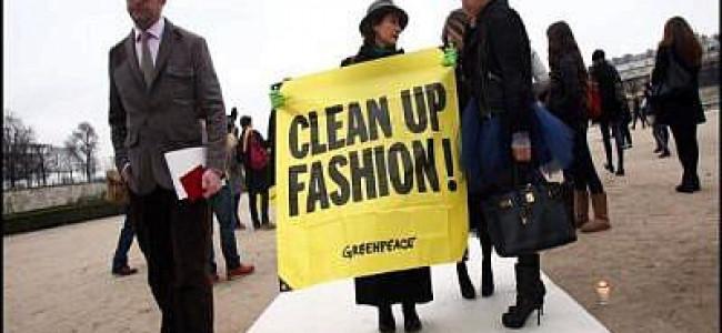 Greenpeace rileva sostanze chimiche pericolose nei vestiti di celebri griffe