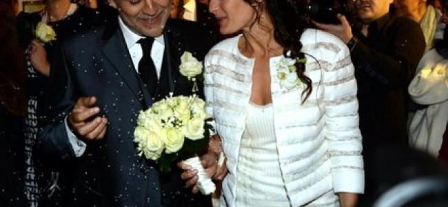 Matrimonio Andrea Bocelli: è firmato Scervino l'abito della sposa [FOTO]