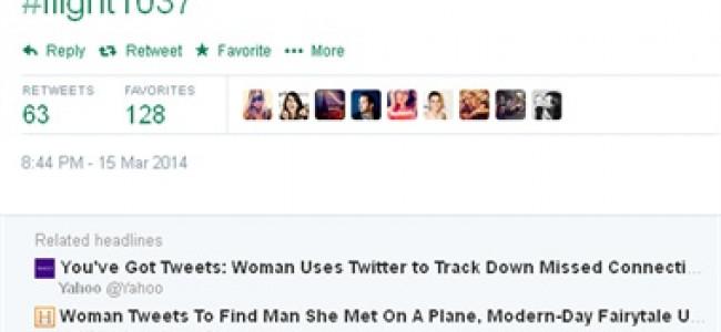 """Si innamora di uno sconosciuto in volo e scrive alla compagnia aerea per avere informazioni sul suo """"futuro marito"""""""