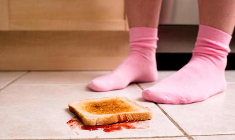 La regola dei 5 secondi: il cibo caduto a terra si può mangiare se raccolto entro 5 secondi