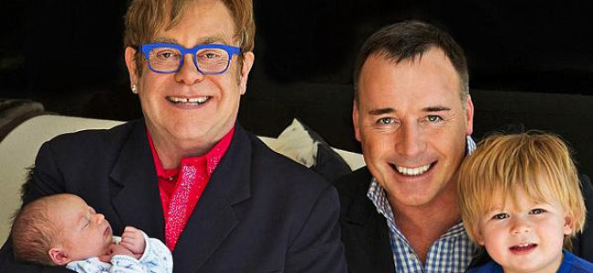 A maggio il matrimonio di Elton John e David Furnish
