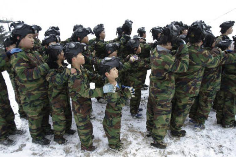 Russia shock: bambini di cinque anni addestrati per la guerra