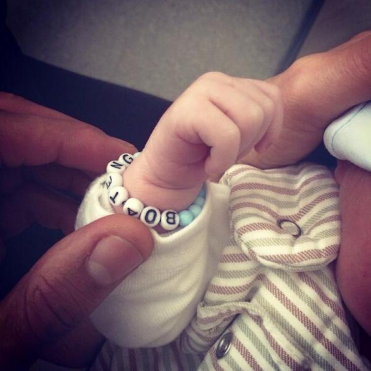 E' nato Maddox: il figlio di Melissa Satta e Kevin Prince Boateng