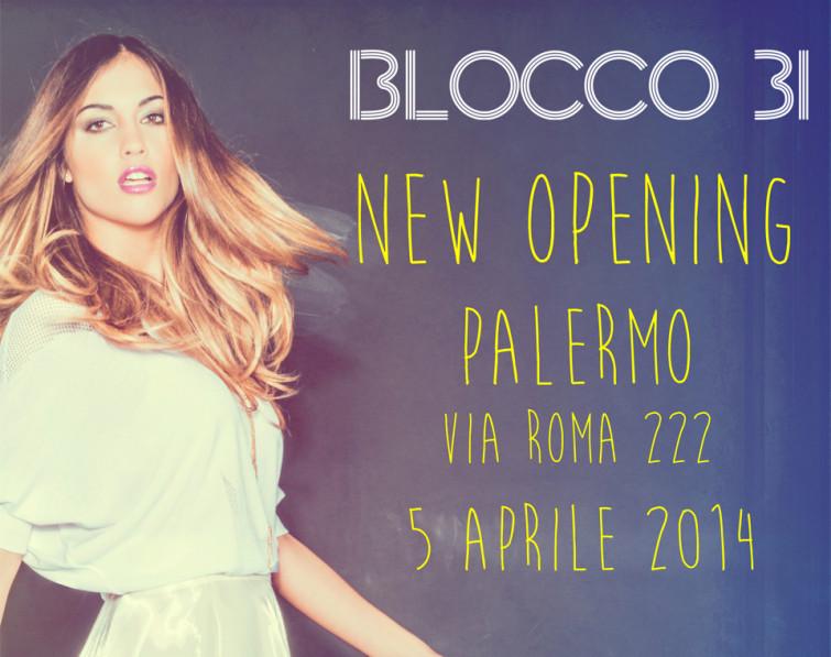 Nuovo Store Blocco 31 a Palermo
