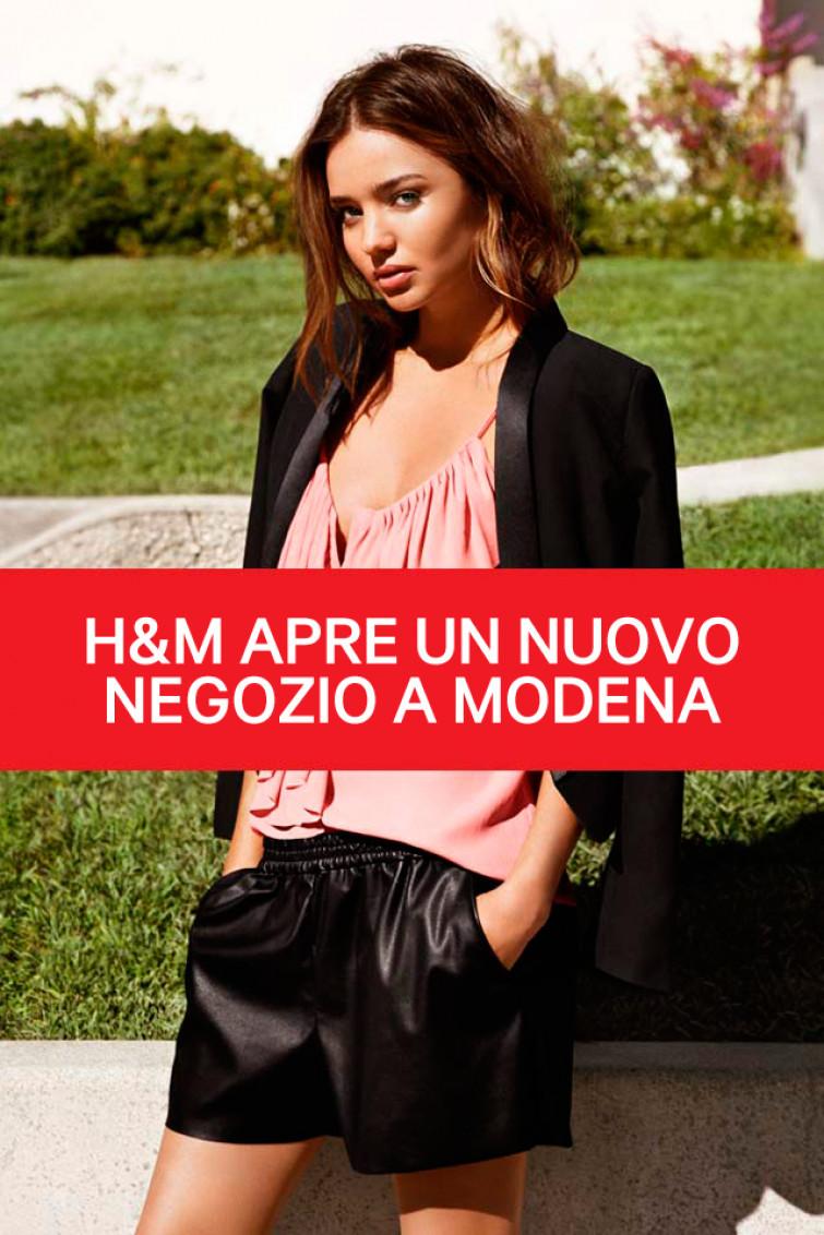 Nuovo store H&M a Modena