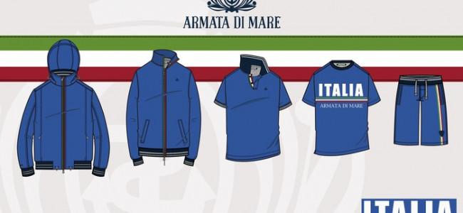 Pacchetto Italia: la collezione di Armata di Mare dedicata agli Azzurri