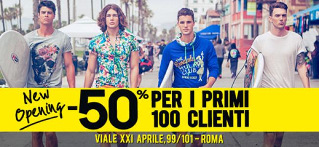 Nuovo store Alcott a Roma