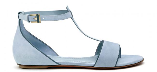 I nuovissimi sandali flat di Santoni dalle tonalità sorbetto [FOTO]