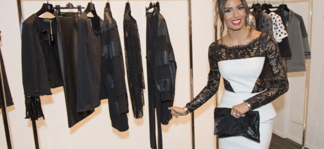 Maria Grazia Severi: a Convivio 2014 con l'abito di Elisabetta Gregoraci