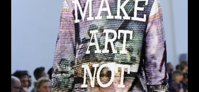 """Make art not war"" con Frankie Morello"