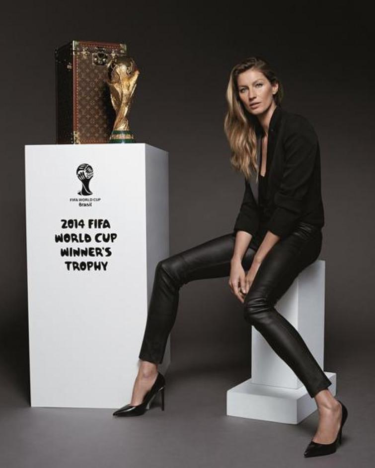 Sarà Gisele Bundchen a consegnare la Coppa del Mondo ai futuri Campioni del Mondo
